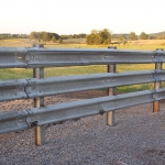 The rounded face of the panel is a great fence-to-animal contact point and gives plenty of surface area on the back side where a one can weld or bolt to it.