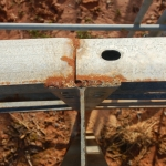 Owners most often will lap the guardrail, but sometimes they will butt the ends of the panel together if there's enough weld-able real estate available on the post… This idea often works out on our W6x9 pound/ft posts, with an ample flange.
