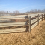 Builders can make all kinds of angled turns with W-beam guardrail – make the turn and WELD it!