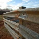 Three Guardrail on Wood 8x8