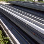 This 6700 feet of guardrail will build over 2200 linear feet of 3-rail high fence.