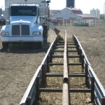 Great job putting this feed line together in such a way that it could be easily accessed.