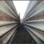 I Beam Post for Guardrail