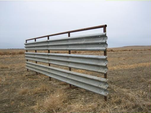 Guardrail Windbreak