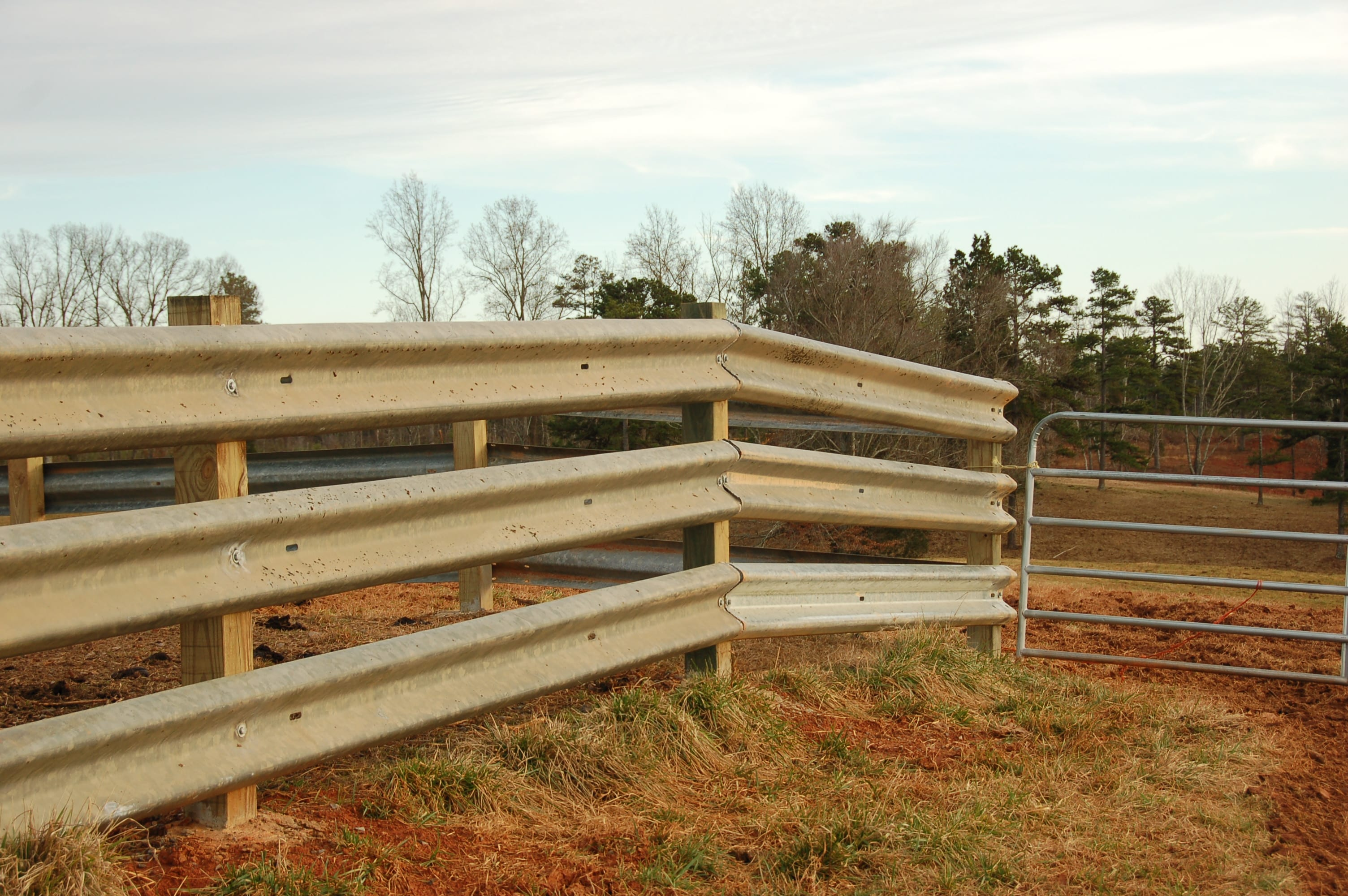 Used Guardrail Corral