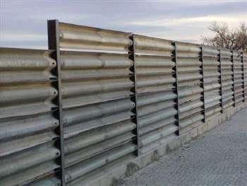 Guardrail Privacy Fence