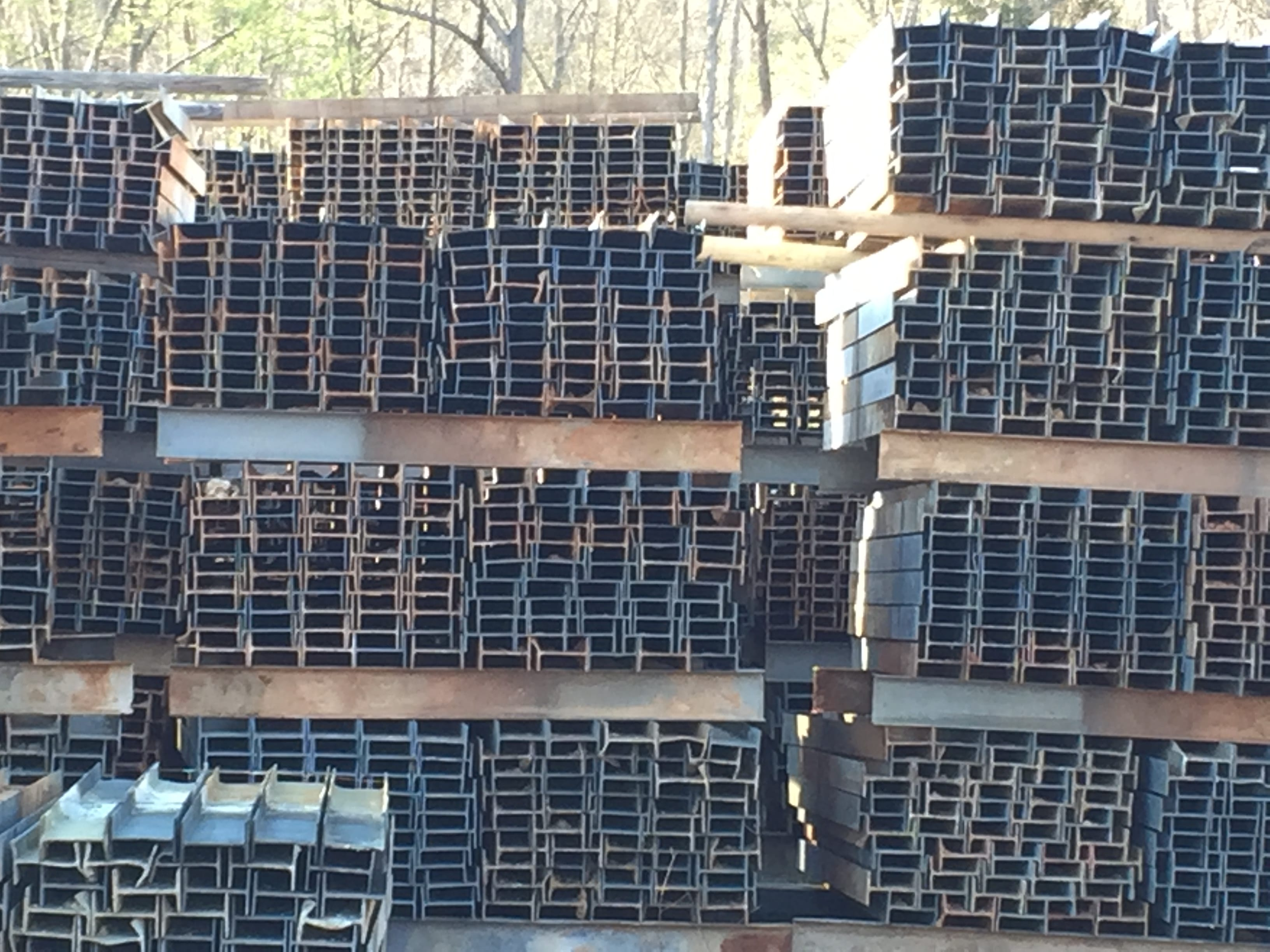 I-Beam Post are your best option for affixing guardrail for your corrals, feed lots, chutes and more