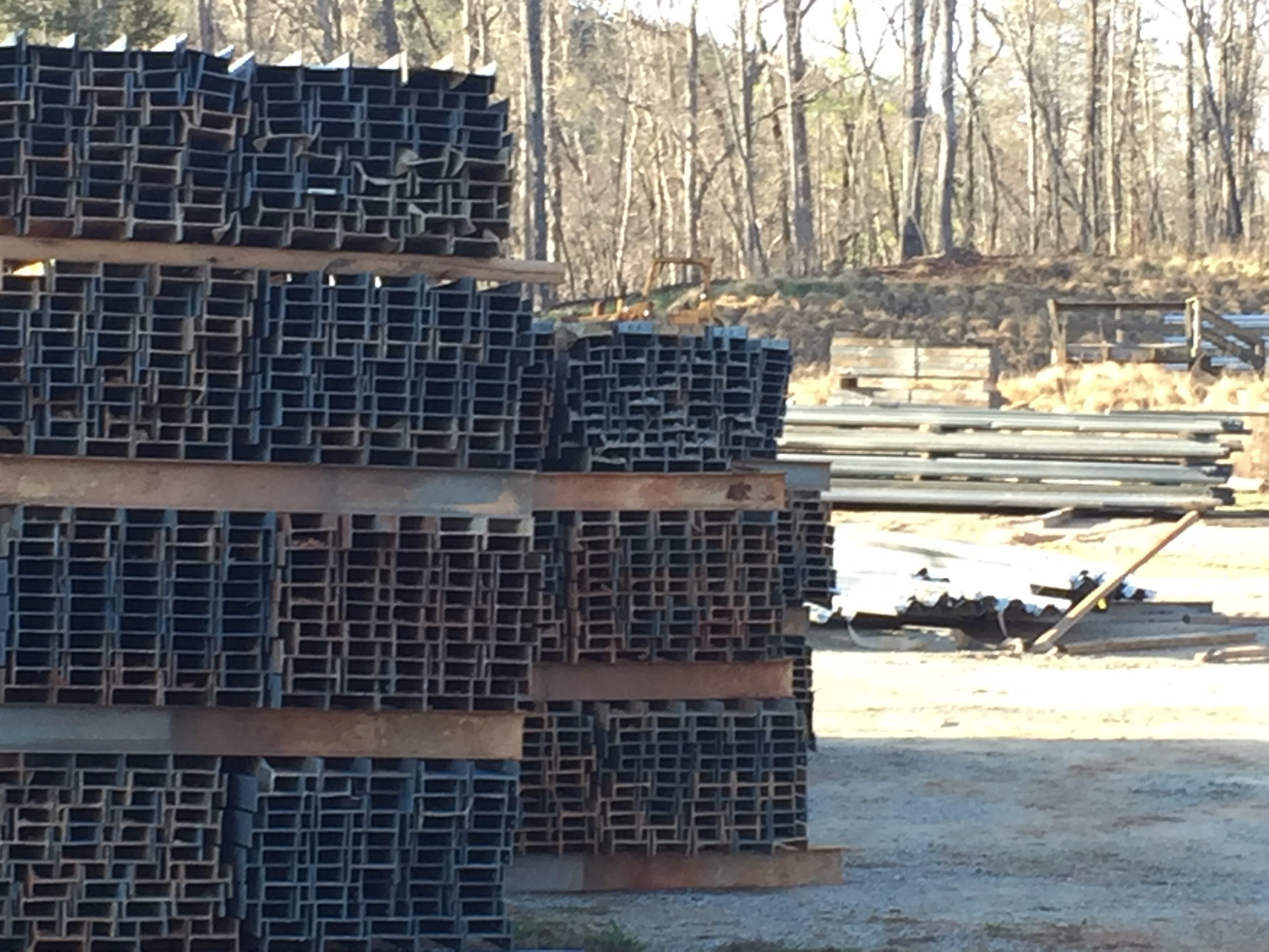 We have stacks and stacks of 8 foot I-Beam Post ready to ship
