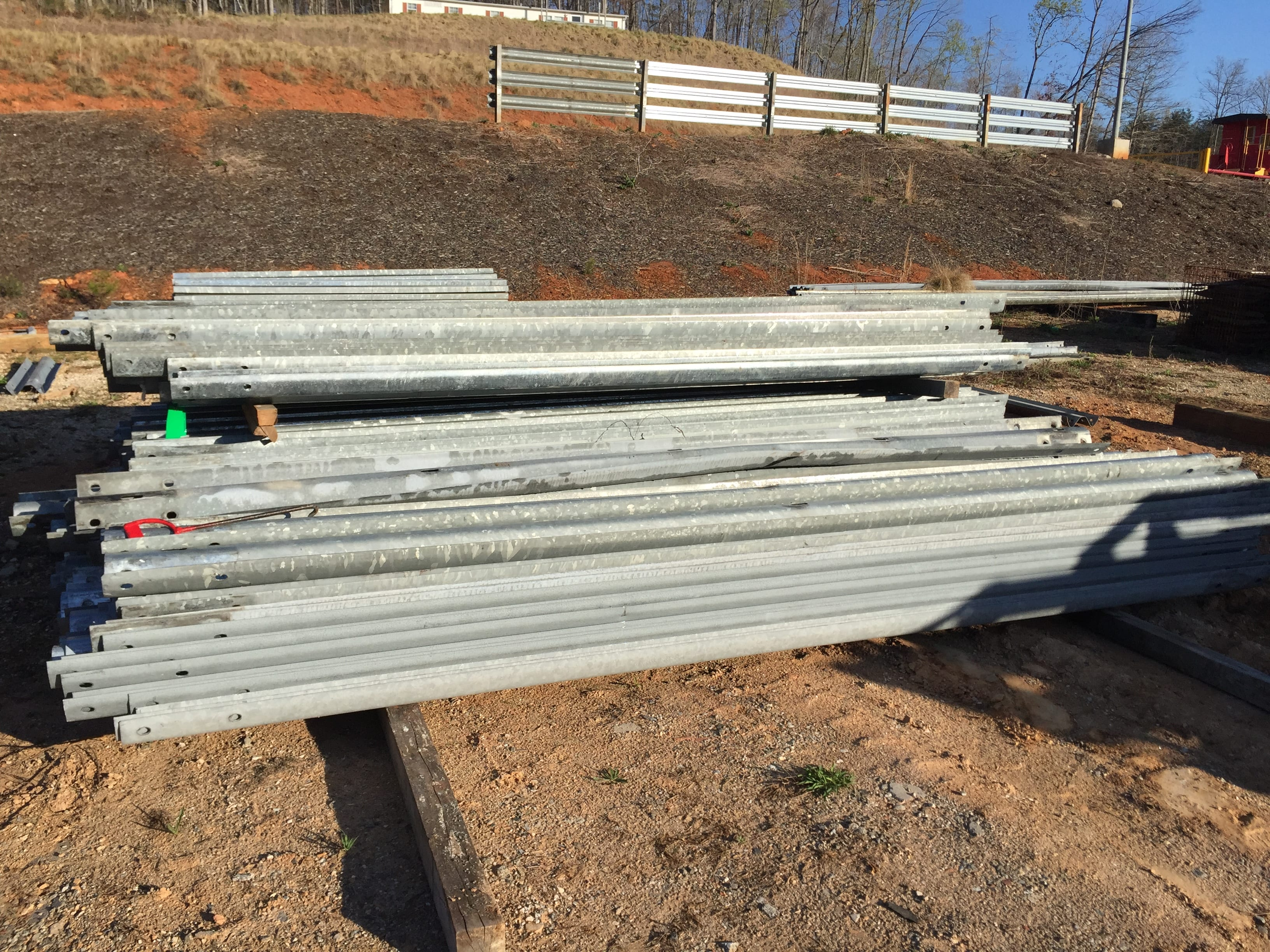 Guardrail Corral has Long and Short W-Beam Guardrail for sale