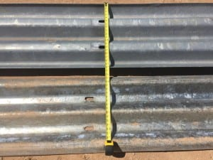 Thrie-Beam Guardrail for sale