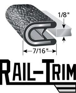 Rail-Trim Guardrail Edge